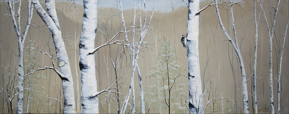 Winter Birch Forest Series