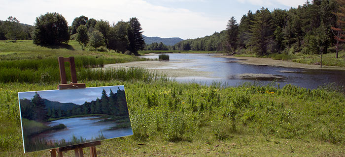 "Taking the ""en plein air"" plunge"