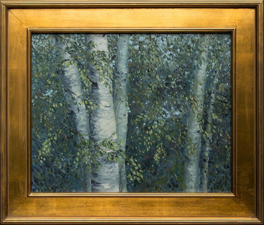 impressionistbirch-framed